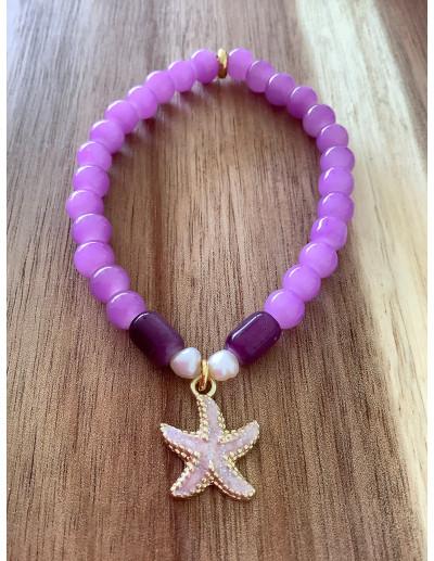 Pulsera glass Star