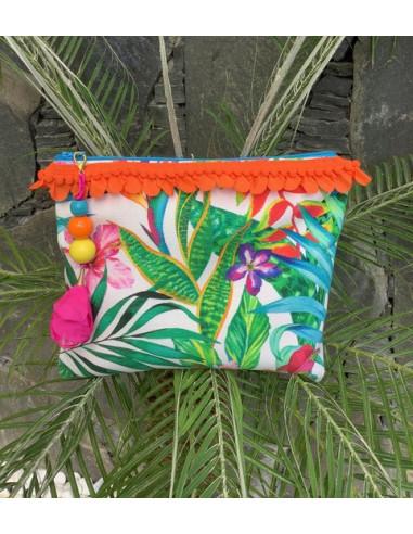 Neceser Tropic Turquesa