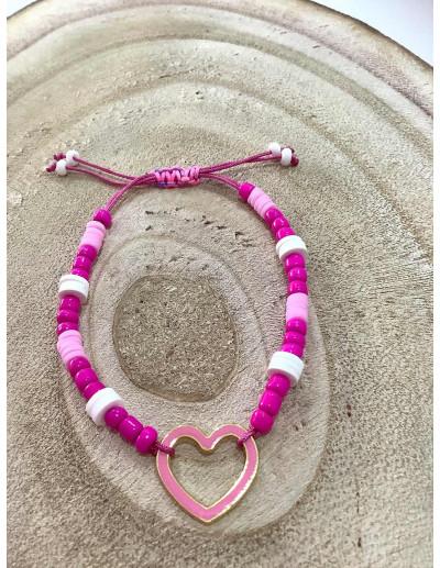 Pulsera Pink Heart