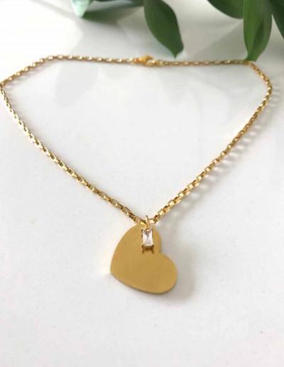 Collar Chapita Corazón